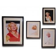 Obraz \Marylin/color\ 33x45x3-sklo/4dr.