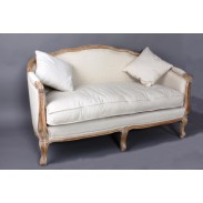Sofa \PROVENCE with WOOD\ 145x73x90cm